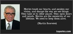 From Martin Scorsese