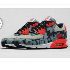 "ba06534048 nike air max 90 infrared washed denim release date 05 Nike Air Max 90  ""Infrared"