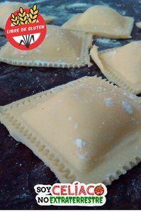 Receta de #ravioles caseros #singluten. La mejor #pasta apta para #celiacos. . . . . . #cocina #sinTACC #receta #glutenfree #recipe