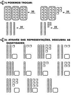 15 Atividades unidade e dezena para imprimir Division Activities, Tens And Units, Geometry Activities, Math Worksheets, Classroom, Tags