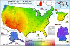 Photovoltaic potential in the US