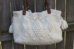 Diamond in the Rough tote crochet pattern $5