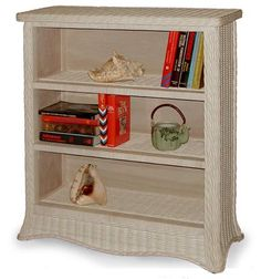 Florentine Rattan Bedroom 4393 Suite from Schober | Whitewash Wicker Bedroom Furniture | americanrattan.com