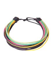 CLASSICS77 MULTI COLOURED WAX CORD BRACELET - MULTI Cord Bracelets, Bangles, Beach Accessories, Wax, Stuff To Buy, Color, Jewelry, Collection, Dress