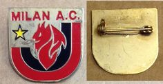 DISTINTIVO CALCIO MILAN PIN BADGE FOOTBALL SPILLA