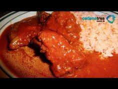 Receta de costillitas con salsa de chiles. Receta fácil de comida mexicana - YouTube