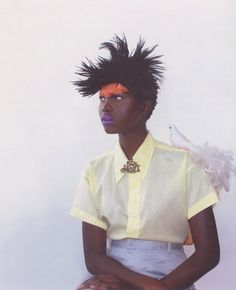 Pop Africana Issue No. 1  Atong Arjok by Oroma Elewa