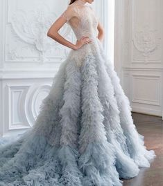 Not Ordinary Fashion — Paolo Sebastian Haute Couture Fall Paolo Sebastian, Debut Gowns, Prom Party Dresses, Wedding Dresses, Lace Evening Dresses, Fashion Images, Couture Collection, Couture Dresses, Beautiful Gowns