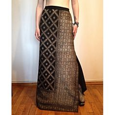 long made of with Geometric Embroidery, Bespoke, Death, Skirts, Fabric, How To Wear, Fashion Design, Wedding, Vintage