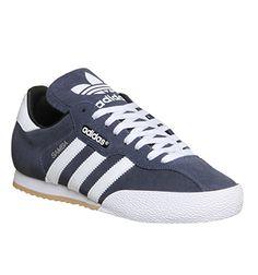 Adidas Samba Super Navy White - His trainers