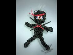 Ninja Tutorial using the Rainbow Loom in High Definition - YouTube