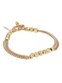 Fatál Girl Gold Bracelet