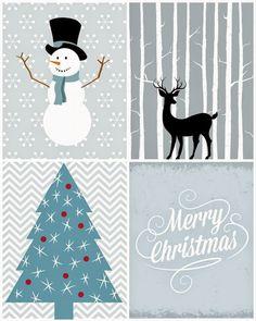 Imprimolandia: Imprimibles para Navidad