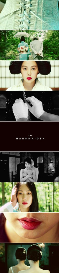 """""""You can even curse at me or steal things from me. But please don't lie to me. Understand?"""" - The Handmaiden (2016)"""