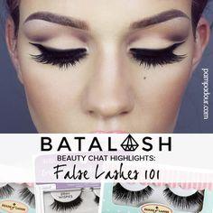 BATALASH BEAUTY HIGHLIGHTS: FALSE LASHES Best False Lashes, Best Fake Eyelashes, False Eyelashes, Makeup Geek, Makeup Inspo, Makeup Inspiration, Red Lips Makeup Look, Lip Makeup, Pretty Makeup