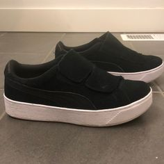 8478d77110268b 30 Best Puma Vikky Black and White Suede images