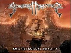 From the album : Reckoning Night of Finnish Power metal band : Sonata Arctica . Heavy Metal, Heavy Rock, Power Metal Bands, Metal Songs, Viking Metal, Black Ocean, Symphonic Metal, Metal Albums, Metal Artwork