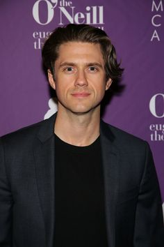Aaron Tveit performs onstage as Eugene O'Neill Theater Center Honors John Logan With Annual Monte Cristo Award at Edison Ballroom on April 2019 in New York City. Grease Movie, Eugene O'neill, Film World, Ralph Lauren Blazer, Aaron Tveit, Lin Manuel Miranda, The Fosters, Cute Pictures, Gentleman