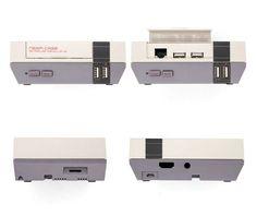 NESPI Case Nintendo NES  Mini Style for Raspberry Pi