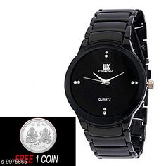 Watches FREE 1 PCS SILVER COLOR COIN Analogue Black Dial Basics Wrist Watch for Men - IIK Full BK Men Strap Material: Metal Display Type: Analogue Size: Free Size Multipack: 1 Country of Origin: India Sizes Available: Free Size   Catalog Rating: ★4.1 (6384)  Catalog Name: Attractive Men Watches CatalogID_1780227 C65-SC1232 Code: 882-9975865-234