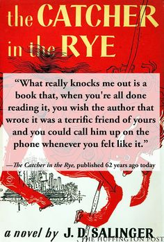 The Catcher in the Rye.. Definitely one of my favorites