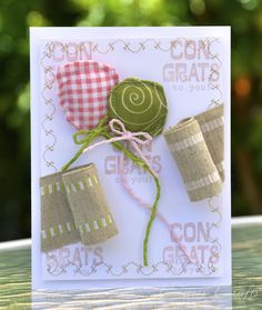 Court's Crafts: May Arts Ribbon Cutting Blog Hop  I thought - why not make it look like you cut the ribbon, it rolled back, and balloons came out!? So that's what I did! :) Hope you enjoy!
