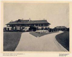 'Elyria', the Albert H. Ely estate designed by Grosvenor Atterbury c. 1900.