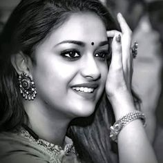 Mana Keerthy Suresh: Keerthy Suresh in Saree with Cute and Lovely Smile Film Images, Hd Images, Kirthi Suresh, Print Your Photos, Lovely Smile, Chubby Cheeks, Latest Images, India Beauty, Actress Photos