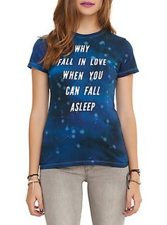 Why Fall In Love Girls T-Shirt,