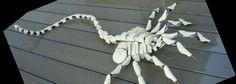 Lego Enthusiast Mordatre hat einen lebensgrossen Alien Facehugger aus Bionicle Lego Steinen gebaut. Wirkt sehr cool und auch etwas erschreckend, da dieser Lego Facehugger äusserst realistisch wirkt (via Mordatre auf Flickr)