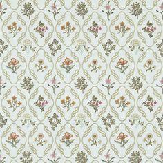 Kelmscott Trellis. Drapes inspired by Jane Morris embroidery from the Original William Morris site