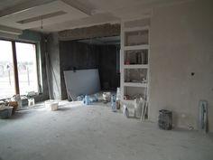 Tak wyglądają prace nad wykańczaniem wnętrza domu Benedykt 2  #mgprojekt #prace_budowlane #wnętrze