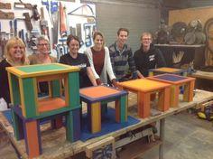 Heb je het idee om een eigen meubelstuk te maken, maar mis je de juiste skills? Kom dan naar onze cursus Modern Meubelmaken en leer de fijne kneepjes van onze docent Henk!  Onze cursus Modern Meubelmaken heeft diverse startdata. Meubelmaken   Houtbewerking   Ambacht   Amsterdam   Cursus