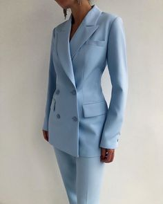 Cute Casual Outfits, Chic Outfits, Fashion Outfits, Corporate Fashion, Business Fashion, Suit Fashion, Look Fashion, Lawyer Fashion, Hijab Style