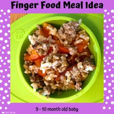 Babies Eating at 10 Months - Lessons By The Lake 10 Months Baby Food, 10 Month Old Baby Food, Baby Food By Age, Food Baby, Baby Meal Plan, Baby Finger Foods, Baby Foods, Whole Wheat Waffles, Baby Eating