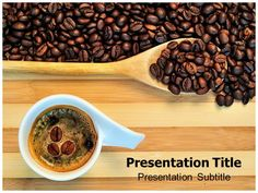 share your experience with exclusive coffee powerpoint template