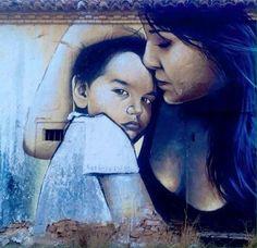 Street Art by El Niño de las Pinturas Murcia Spain