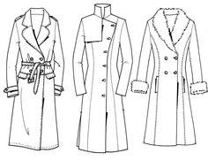 fur coat fashion flat - Google Search
