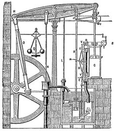 Boulton and watt steam engine 1784 - watt went on to install many of these engines in cornwall for pumping in the mines this is a good link on to trevithick