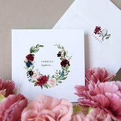 Unsere Babykarte Domitille - verschickt Liebe und schöne Geburtskarten