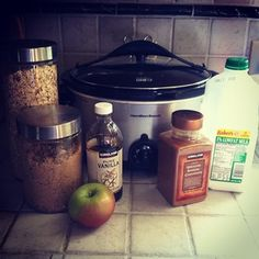 This recipe is kindergarten-approved! Every year, we do a unit on apples. Each student brings in an apple and we sort and graph them. Sometime during our unit, we make Crock Pot Apple Oatmeal. It's...