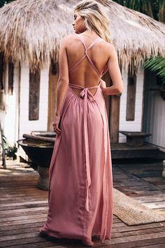 Indie-Rose Dress - Blush #SaboSkirt for #SABOFORMAL