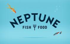 Bob Martin – Fish / Fish Food / Pet Food / Logo / Branding / Neptune / Bright / Aquarium / Tropical / Goldfish / Water / Bubbles