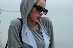 Toy Box by Christina: Womens Marbleized Fast Fashion Half Cut Frame Cat Eye Sunglasses 9280