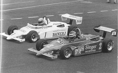 Ayrton Senna's fierce F-3 Battles with Martin Brundle in 1983 paved the way for both the Brazilian Senna, and the Englishman Brundle to land drives in Formula One in 1984!    Both Drivers dominated the 1983 F-3 Championship Finishing 1-2.  Senna's 132 points edged Brundle's 127.