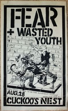 1978 ny punk poster - Google Search