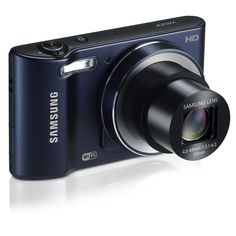 Samsung Smart Wi-Fi Digital Camera, Megapixel, zoom, LCD Display (Black) : The compact Samsung Smart Camera lets you easily capture your memories. With a CCD sensor and zoom lens, the lets you get close to the action and take crystal-clear photos an Hd Samsung, Samsung Camera, Best Digital Camera, Digital Cameras, Cameras Nikon, Camera Deals, Electronic Deals, Point And Shoot Camera, Cameras For Sale