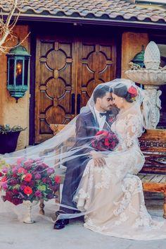Beautiful Spanish villa wedding More