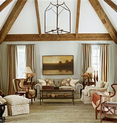 Farmhouse Chic like the colors and floors