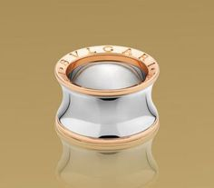 bulgari anish kapoor ring in pink gold and steel anish kapoor ring in pink gold and steel this ring fits two sizes tighter than a regul